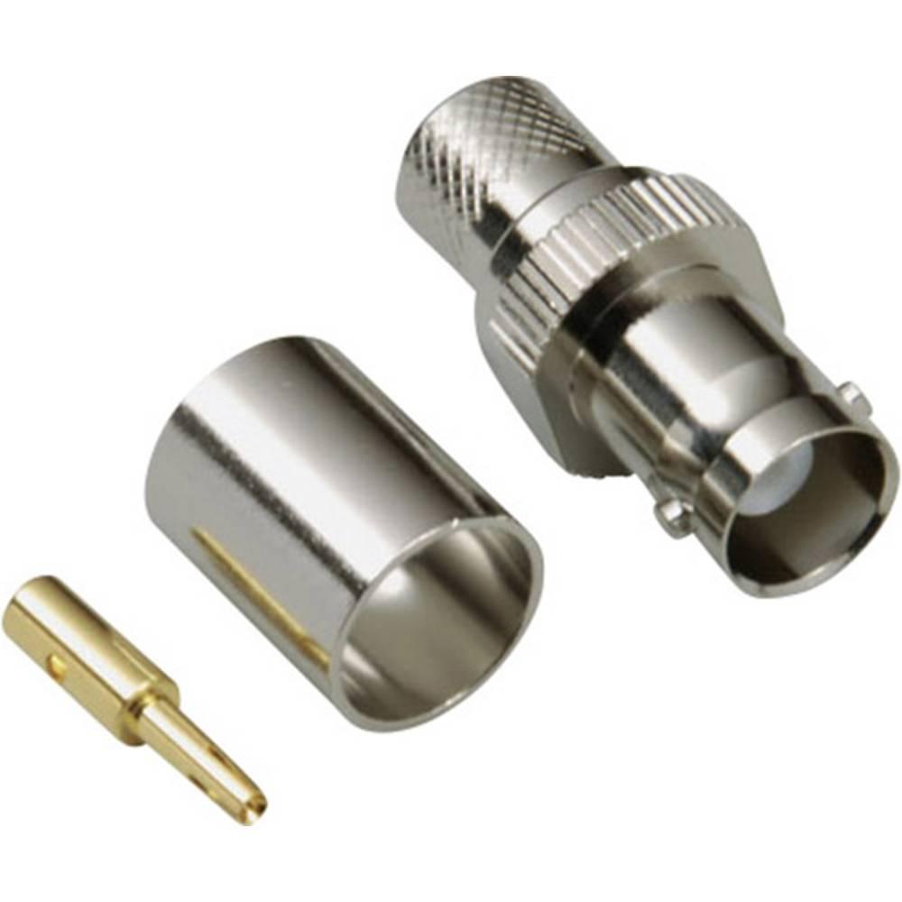 BNC-stikforbindelse BKL Electronic 0401272 50 Ohm Tilslutning, lige 1 stk