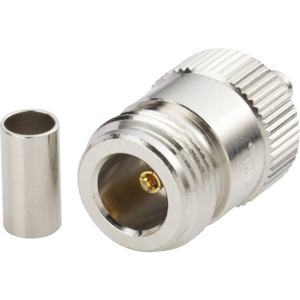 N-stikforbindelse Amphenol N6121A1-NT3G-1-50 50 Ohm Tilslutning, lige 1 stk