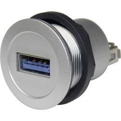 Schlegel RRJ_USB3_AA USB 3.0 Sølv 1 stk