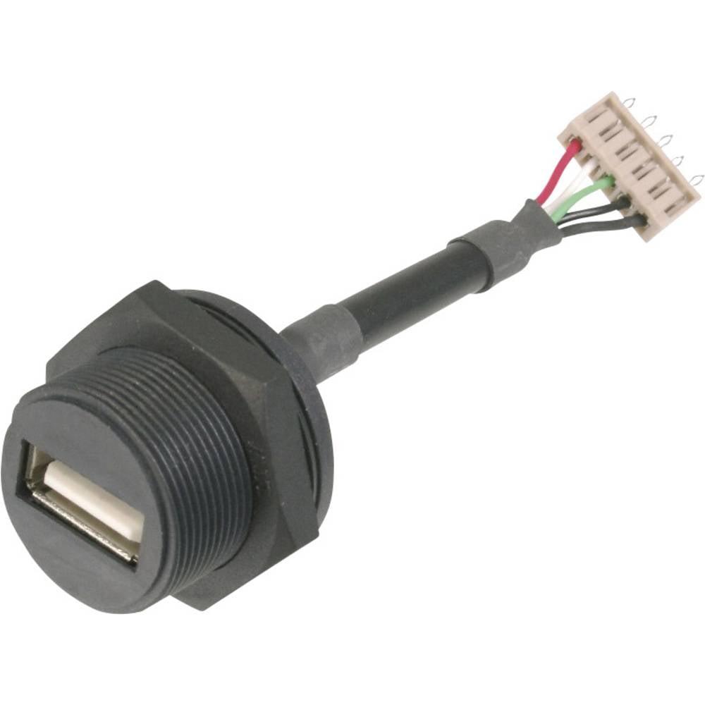 USB A-tilslutning på 5-poletstik ASSMANN WSW USB 2.0 1 stk