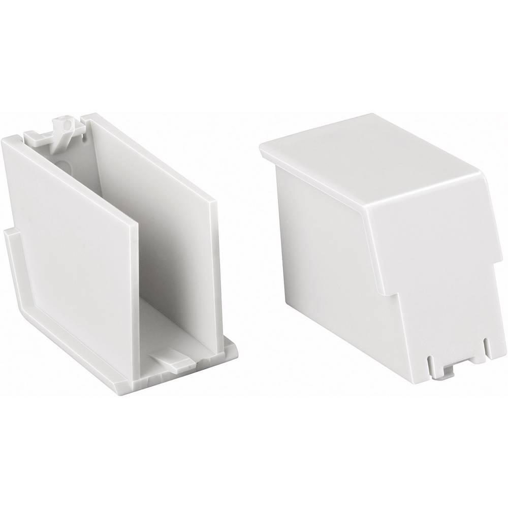 Kućište za DIN-letvu, slijepi čep 35.6 polikarbonat, svijetlo sive boje Phoenix Contact BC 35,6 BS U11 KMGY 1 kom.