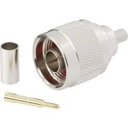 N-stikforbindelse BKL Electronic 0404074 50 Ohm Stik, lige 1 stk