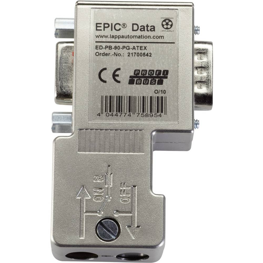 EPIC® Data PROFIBUS konektor EPIC® ED-PB-90-PG-ATEX LappKabel vsebina: 1 kos
