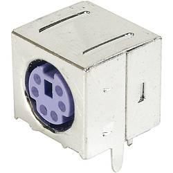 Mini-DIN vgradna vtičnica, oklopljena TRU Components vsebina: 1 kos