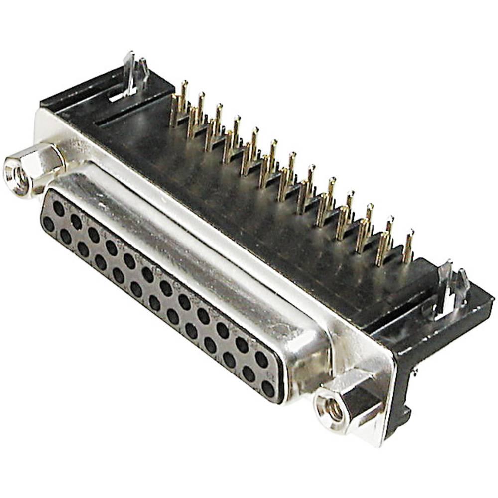 Konektor D-SUB za PCB-montažo A-DF 25 A/KG-T1 Assmann WSW