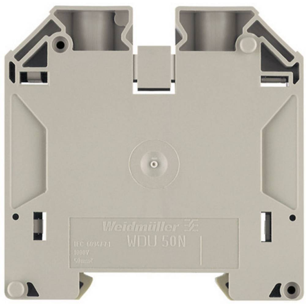 Feed-through terminaler WDU beige Weidmüller WDU 50N 1820840000 Beige 1 stk