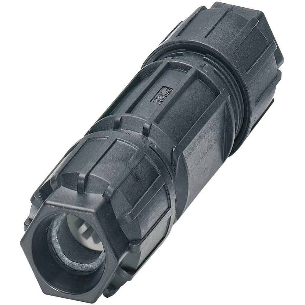 Konektor Quickon serije QPD CQPD C 3PE2,5 2X9-14 BK Črna Phoenix Contact 1582214