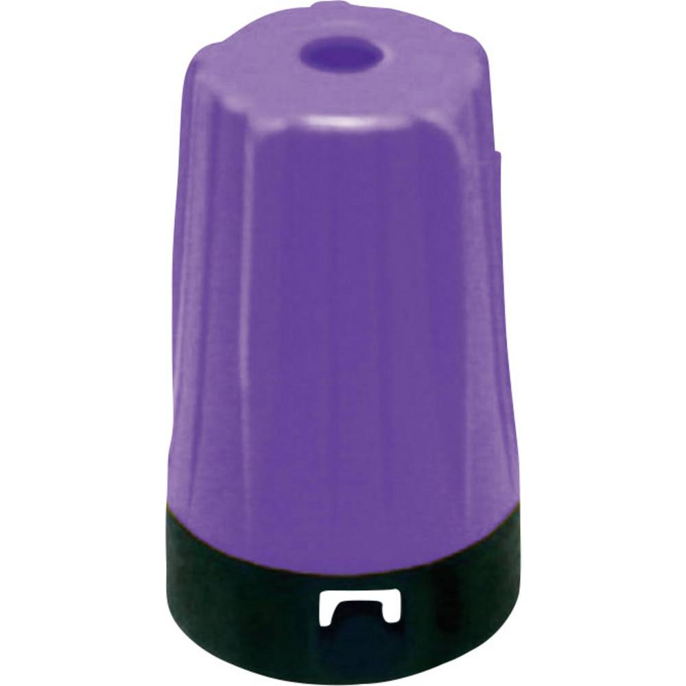 Kabeltylle Neutrik BST-BNC-7CON Violet 10 stk