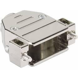 D-SUB-kabinet Harting 09 67 037 0443 Poltal 37 180 ° Plastic, metalliseret Sølv 1 stk