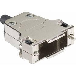D-SUB-kabinet Harting 09 67 009 0344 Poltal 9 180 ° Metal Sølv 1 stk