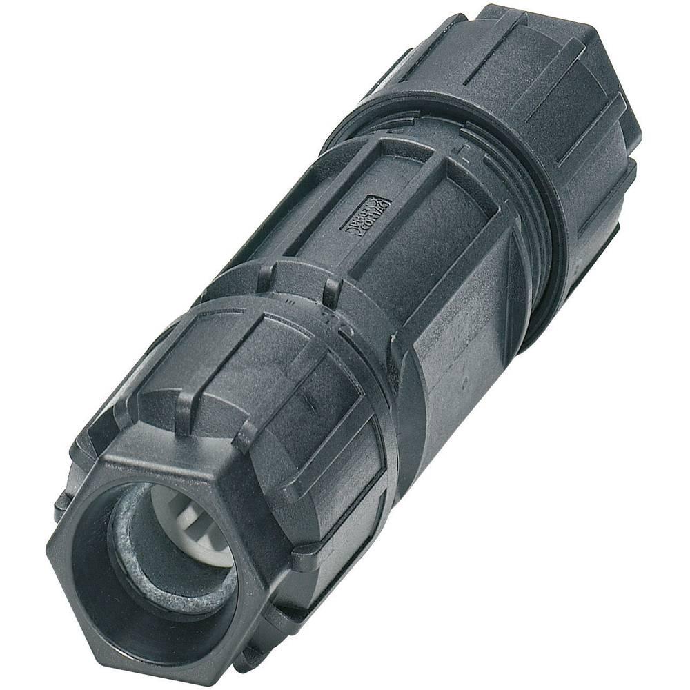 Konektor Quickon serije QPD CQPD C 3PE2,5 2X6-10 BK Črna Phoenix Contact 1582211