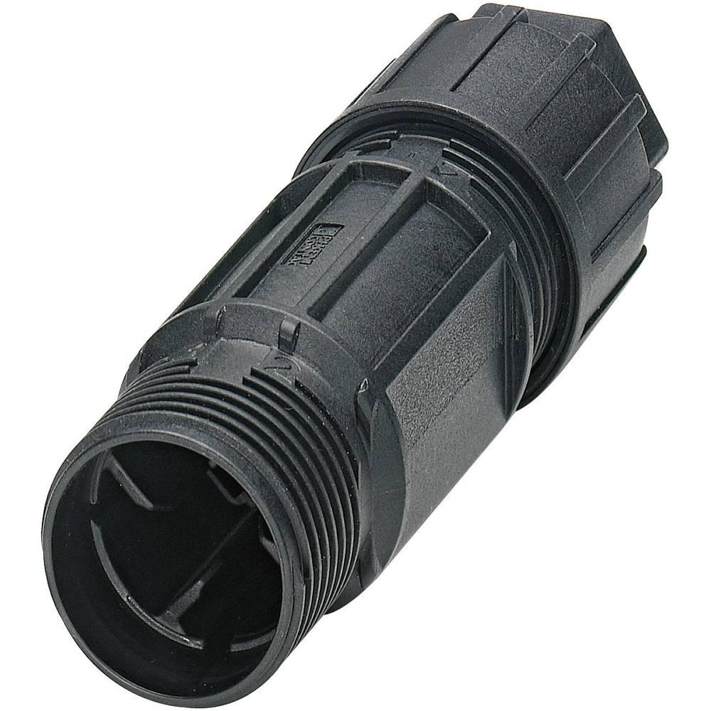 Konektor Quickon serije QPD CQPD C 3PE2,5 1X6-10 BK Črna Phoenix Contact 1582220