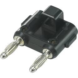 Forbindelsesstik TRU COMPONENTS TC-R8-84 Stift-diameter: 4 mm 19 mm Sort 1 stk
