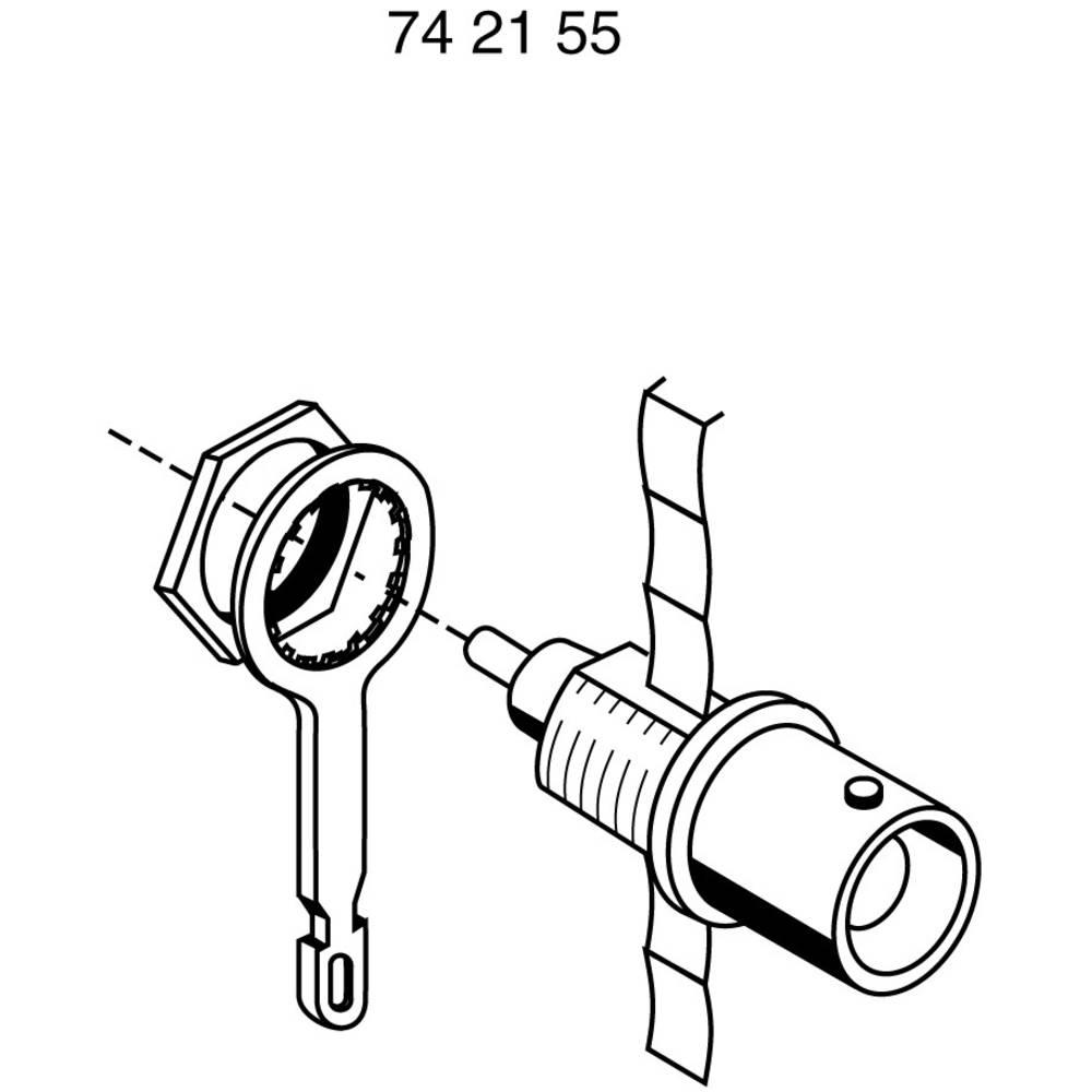 Solder tag for BNC socket