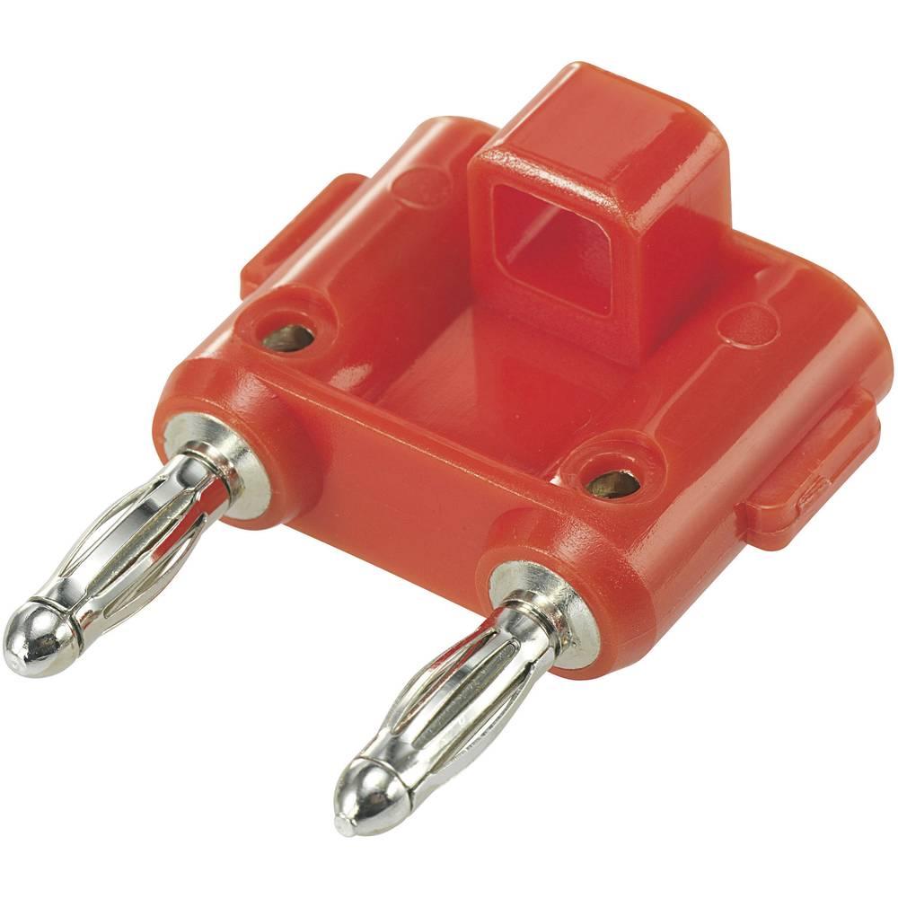 Forbindelsesstik SCI Stift-diameter: 4 mm 19 mm Rød 1 stk