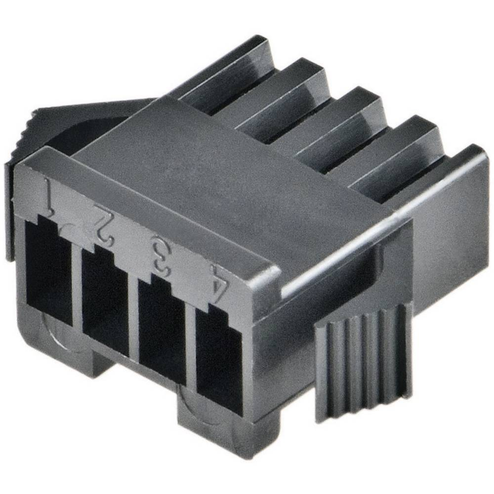 Ohišje J.S.T. serije SM, SMP-03V-BC, razporeditev kontaktov: 2,5 mm, poli: 3, 3 A, 1 kos JST