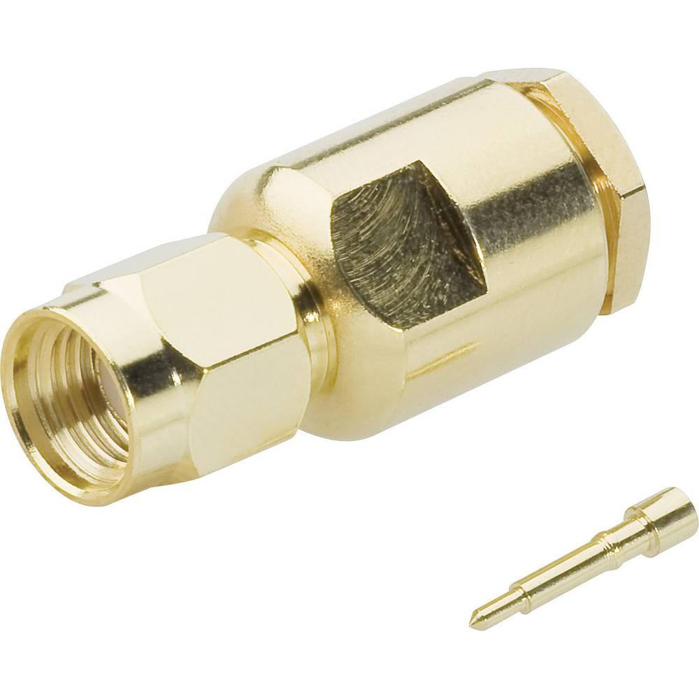 Moški konektor SMA za stiskanje, 50 Ohm za stiskanje 409097 BKL Electronic