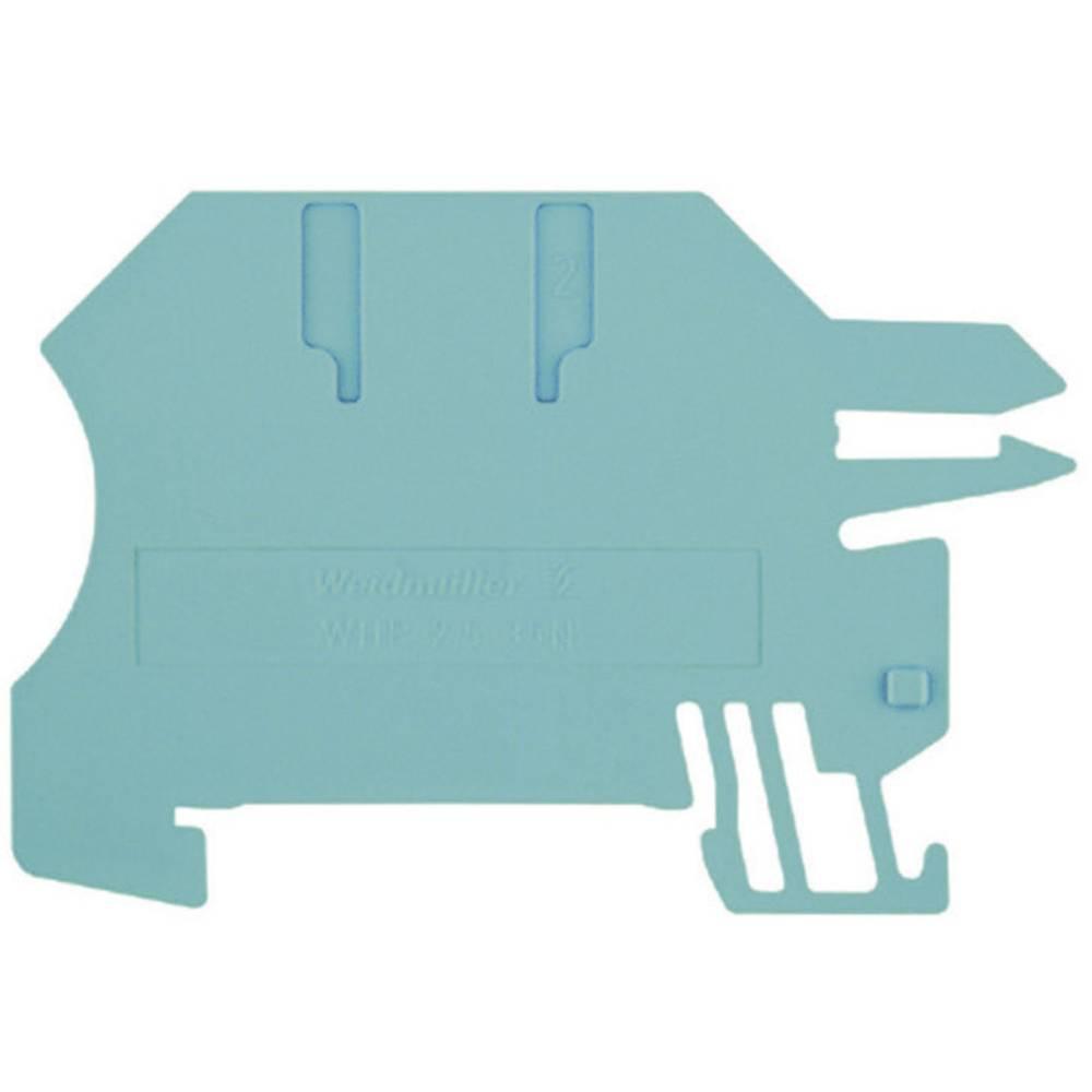 Holdepladerne for 10 x 3 mm samleskinne WHP 2.5-35N/10x3 BL 1050280000 Blå Weidmüller 1 stk