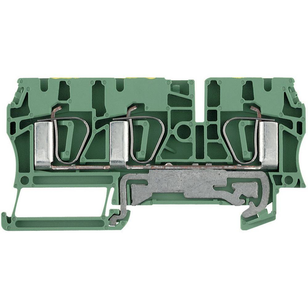 Beskyttelsesleder terminaler ZPE Weidmüller ZPE 4/3AN 7904170000 Grøn-gul 1 stk
