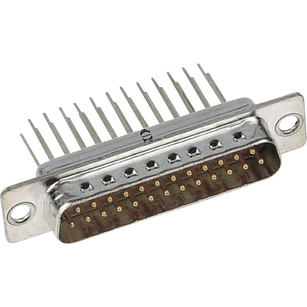SUB-D konektorska letev 9 polna, namest. na tiskana vezja Harting 09 67 009 5655