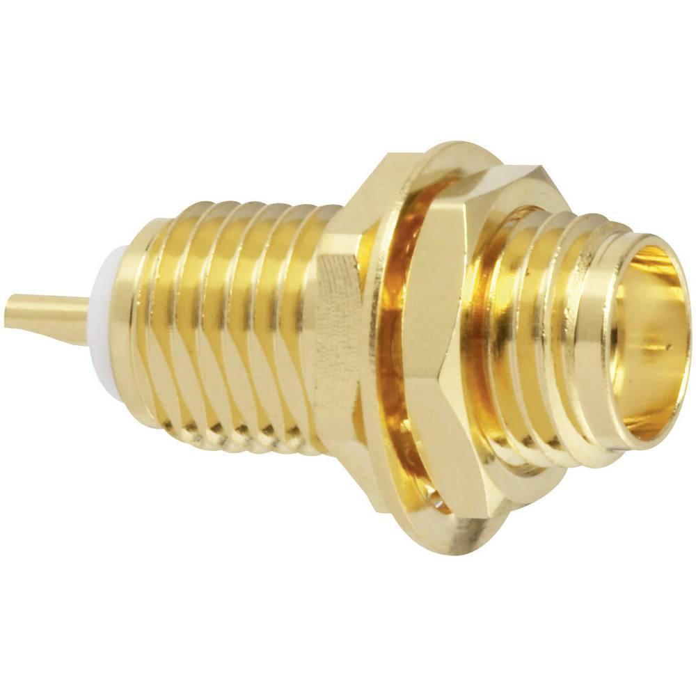 SMA-stikforbindelse Amphenol SMA6351B1-3GT50G-50 50 Ohm Tilslutning, indbygning lodret 1 stk