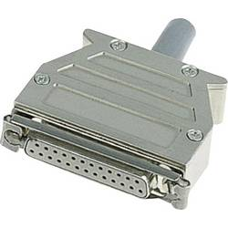 D-SUB-kabinet Harting 09 67 015 0453 Poltal 15 180 ° Plastic, metalliseret Sølv 1 stk