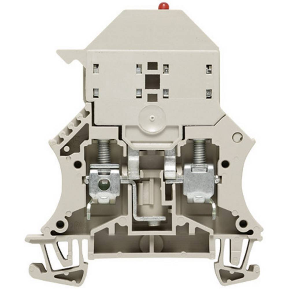 Sikrings-rækkeklemmer Weidmüller WSI 6/LD 10-36V DC/AC 1011300000 Grå 1 stk
