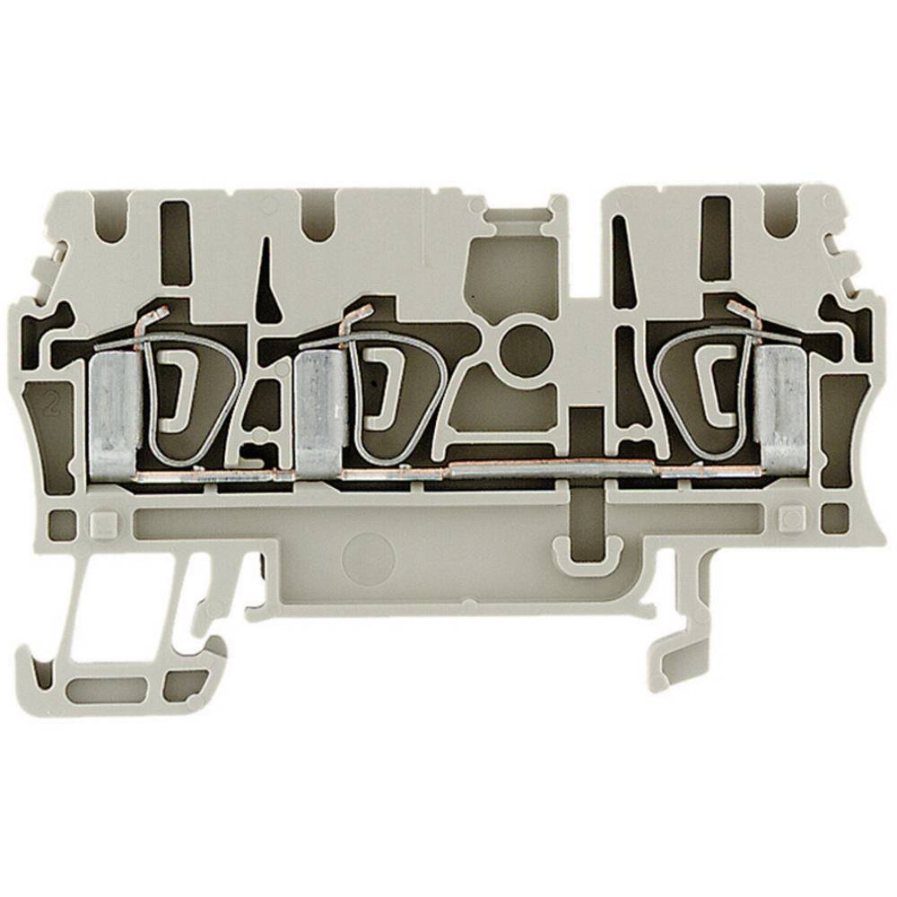 Feed-through terminaler ZDU beige Weidmüller ZDU 2.5/3AN 1608540000 Beige 1 stk