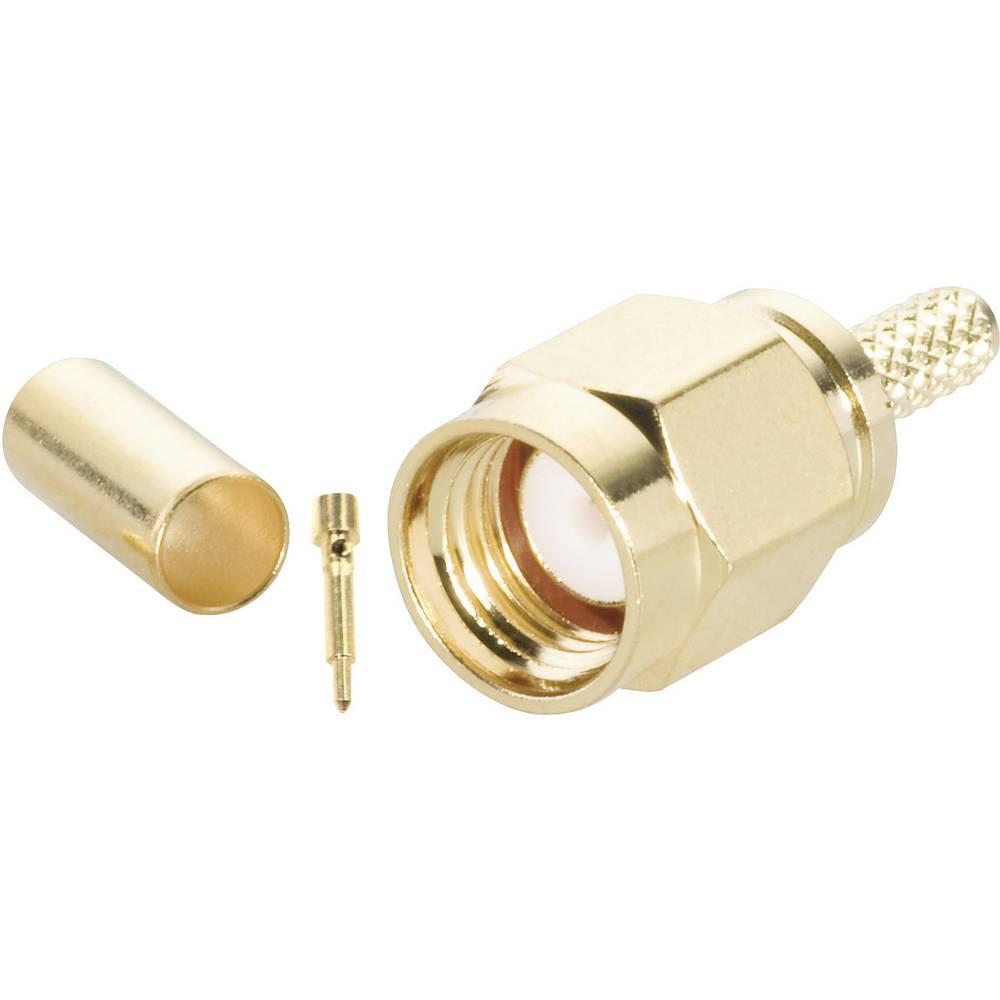 SMA-stikforbindelse BKL Electronic 0409076 50 Ohm Stik, lige 1 stk