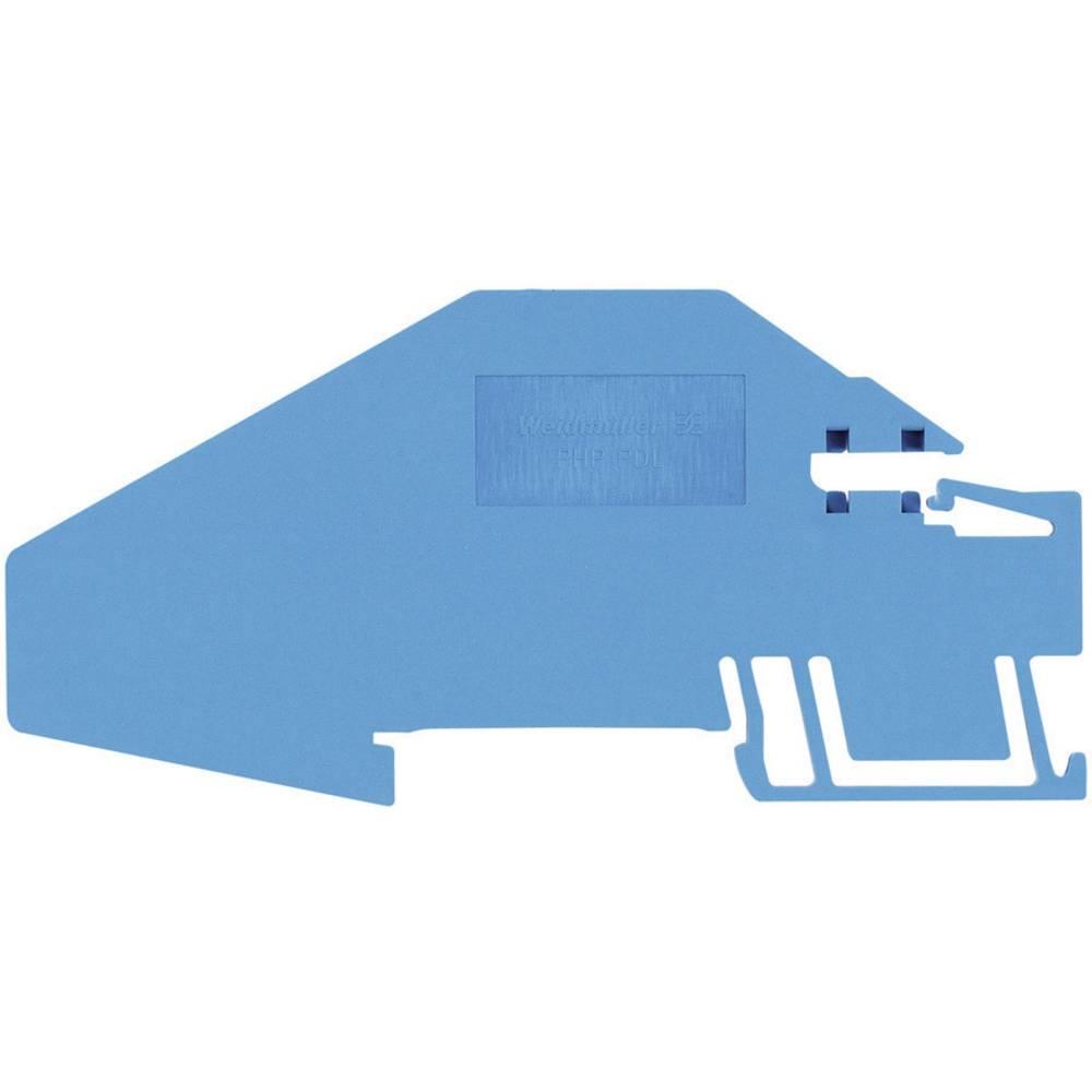 holdepladerne Weidmüller PHP PNT16 1896380000 Blå 1 stk