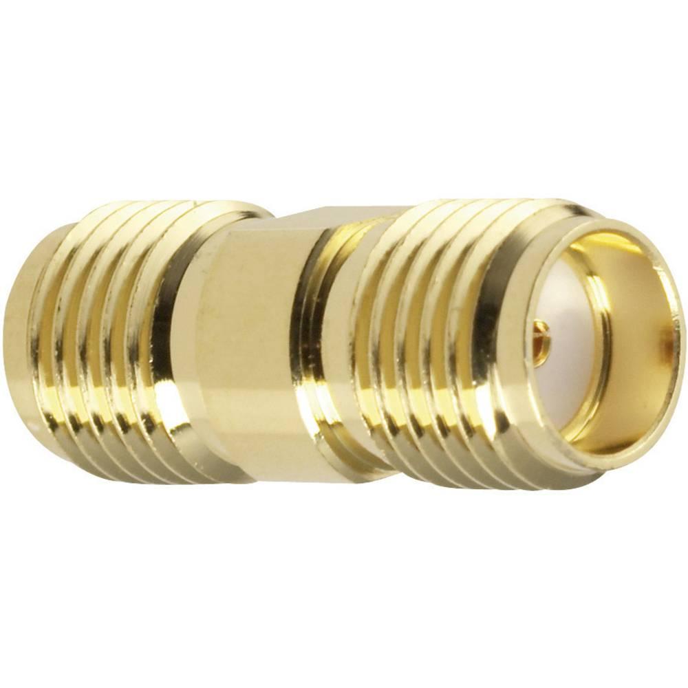 SMA-adapter SMA-Buchse (value.1390693) - SMA-Buchse (value.1390693) Amphenol SMA7071A2-3GT50G-50 1 stk