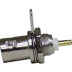 BNC-konektor, vtičnica, pokončna namestitev 50 Ω 1 kos