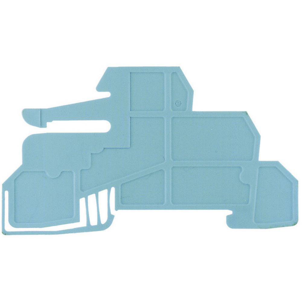 Holdepladerne for 10 x 3 mm samleskinne WHP WDL2.5/S BL 1067980000 Blå Weidmüller 1 stk