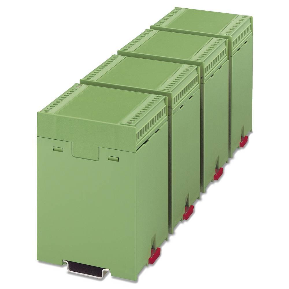 Kućište za DIN-letvu, poklopac 75 x 67.5 umjetna masa zelene boje Phoenix Contact EG 67,5-A/ABS GN 1 kom.
