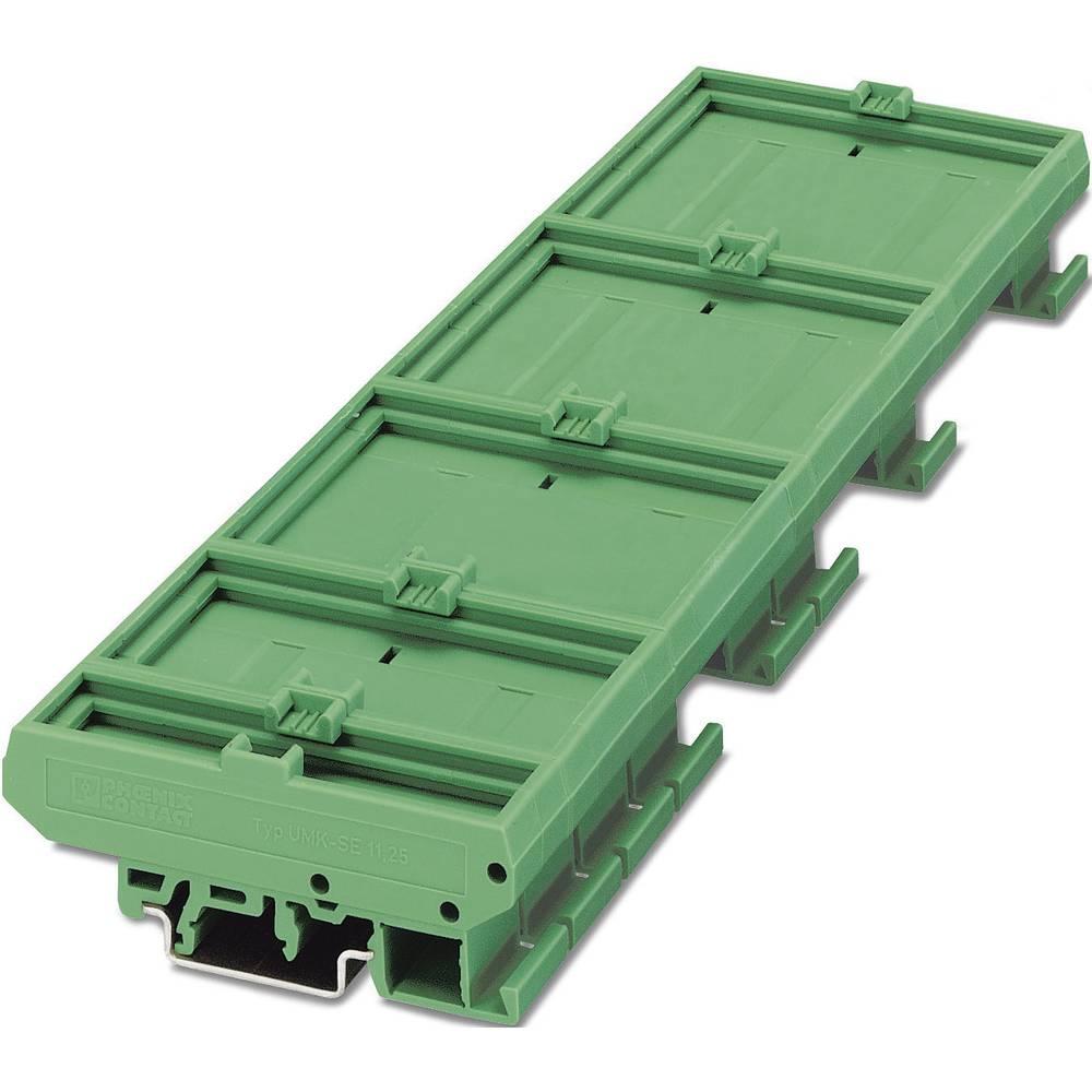 Kućište za DIN-letvu 77 x 45 poliamid, zelene boje Phoenix Contact UMK- BE 45 1 kom.