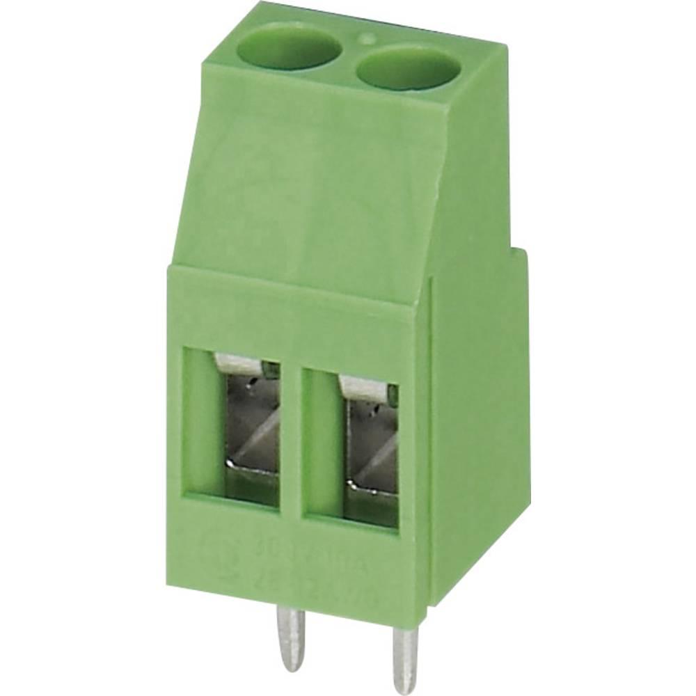 Skrueklemmeblok Phoenix Contact MKDS 3/ 2 2.50 mm² Poltal 2 Grøn 1 stk