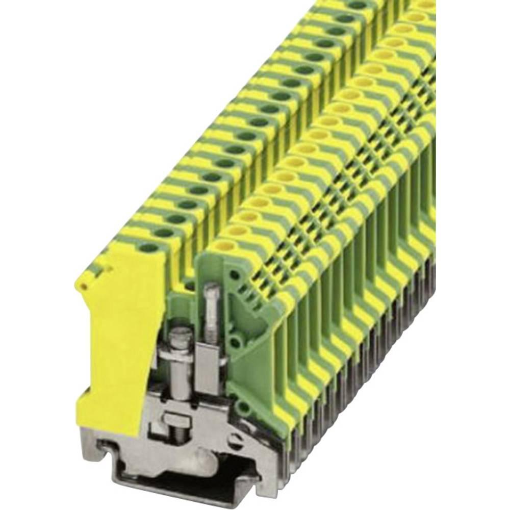 PE-beskyttelseslederklemme Phoenix Contact USLKG 5 Grøn-gul 1 stk