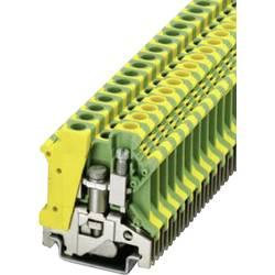 PE-stezaljka sa zaštitnim vodičem USLKG 6 N Phoenix Contact zeleno-žute boje, sadržaj: 1 kom.