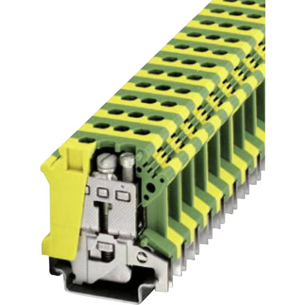 PE beskyttelsesleder terminal Phoenix Contact UISLKG 16 Grøn-gul 1 stk