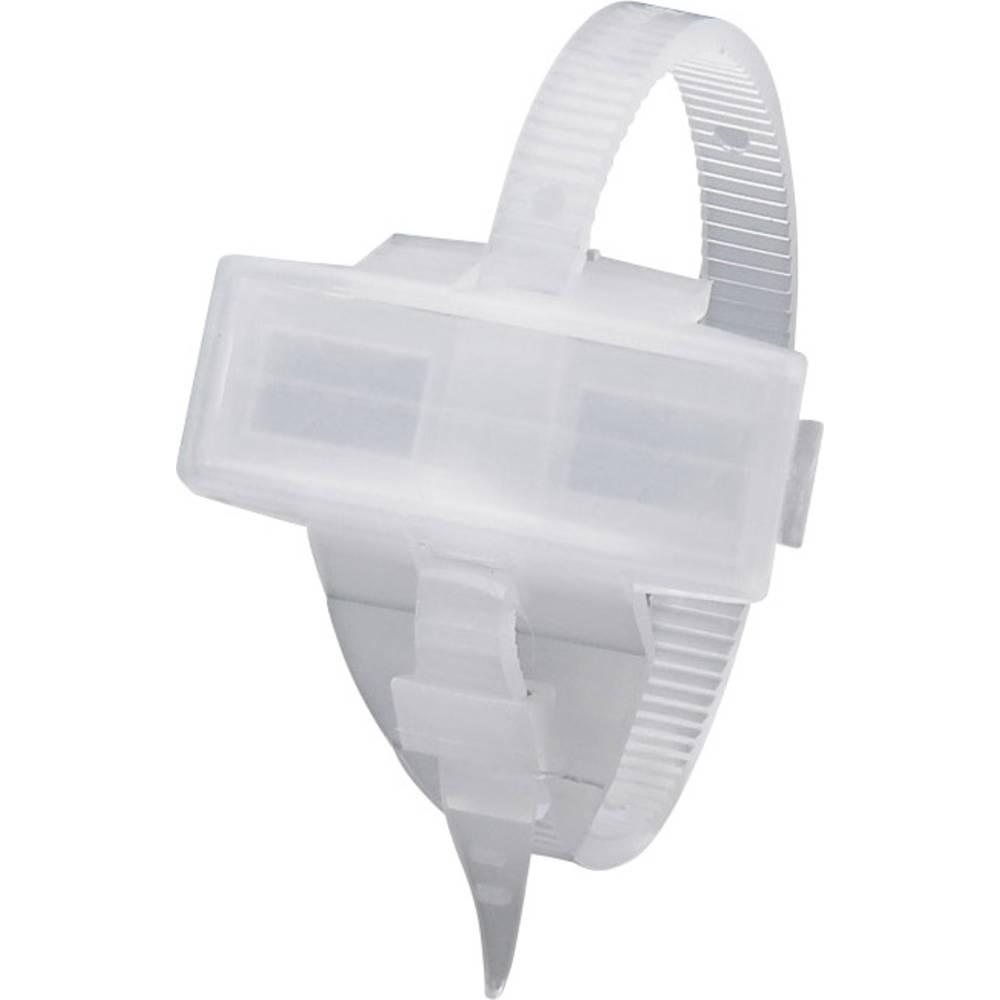 Markeringsophæng med kabelbindere Phoenix Contact KMK 1005208 1 stk Transparent