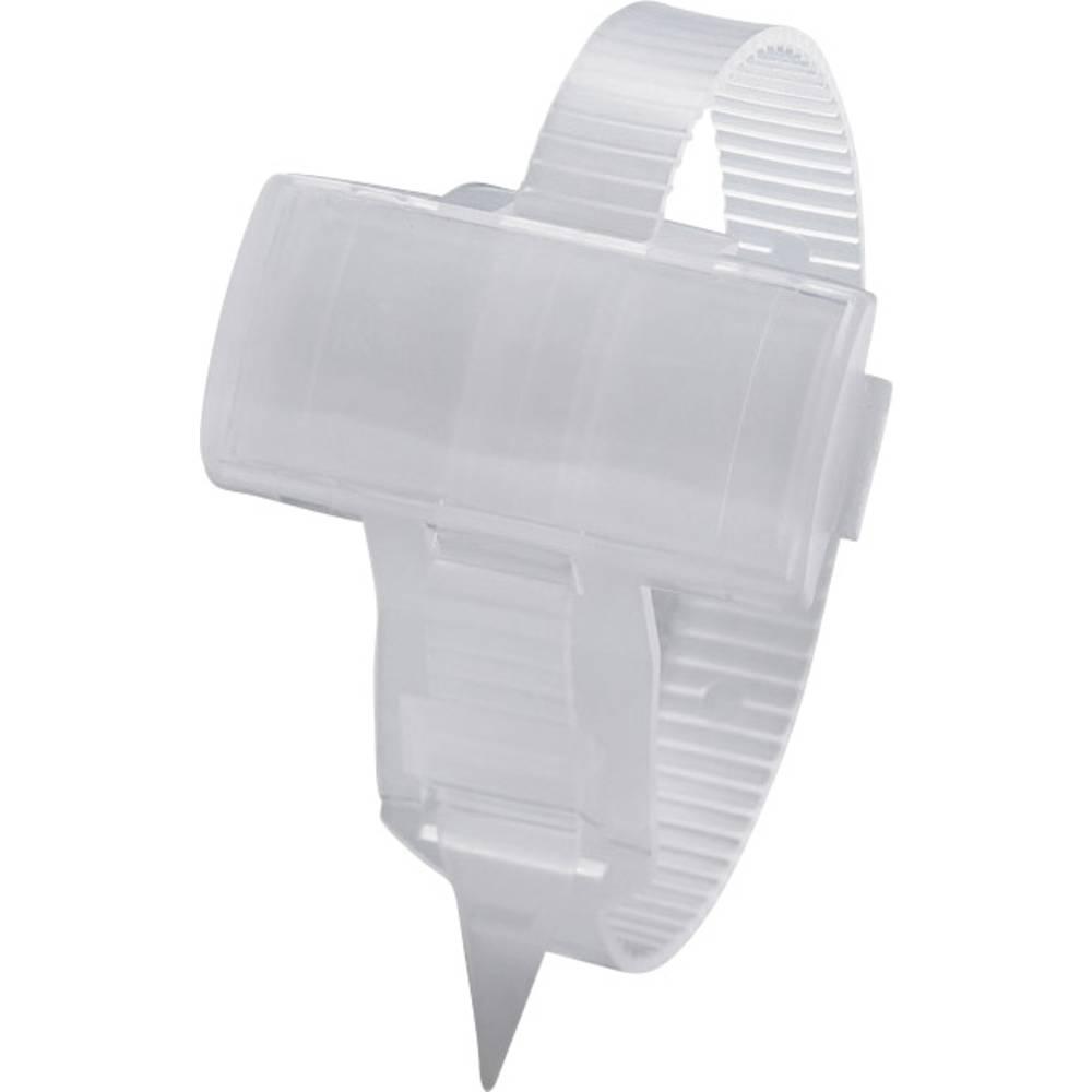 Markeringsophæng med kabelbindere Phoenix Contact KMK 3 1005211 1 stk Transparent