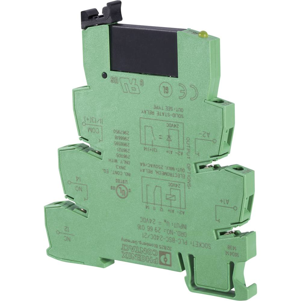 Relej sučelja 1 kom. Phoenix Contact PLC-OSC- 24DC/24DC/2 preklopni napon (maks.): 33 V/DC