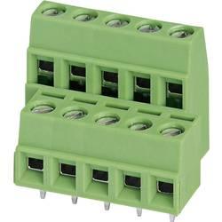 Dobbeltrækkeklemme Phoenix Contact MKKDSN 1,5/ 4 1.50 mm² Poltal 8 Grøn 1 stk