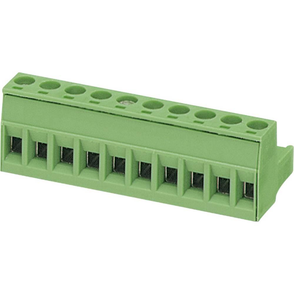 Tilslutningskabinet-kabel MSTB (value.1360781) Samlet antal poler 8 Phoenix Contact 1757077 Rastermål: 5.08 mm 1 stk