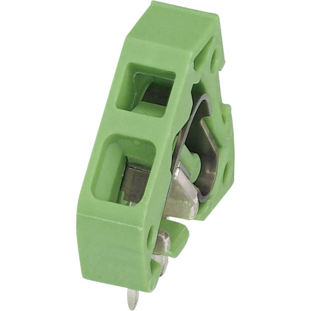 Fjederkraftsklemmeblok Phoenix Contact ZFKDS 2,5-5,08 L 2.50 mm² Poltal 1 Grøn 1 stk