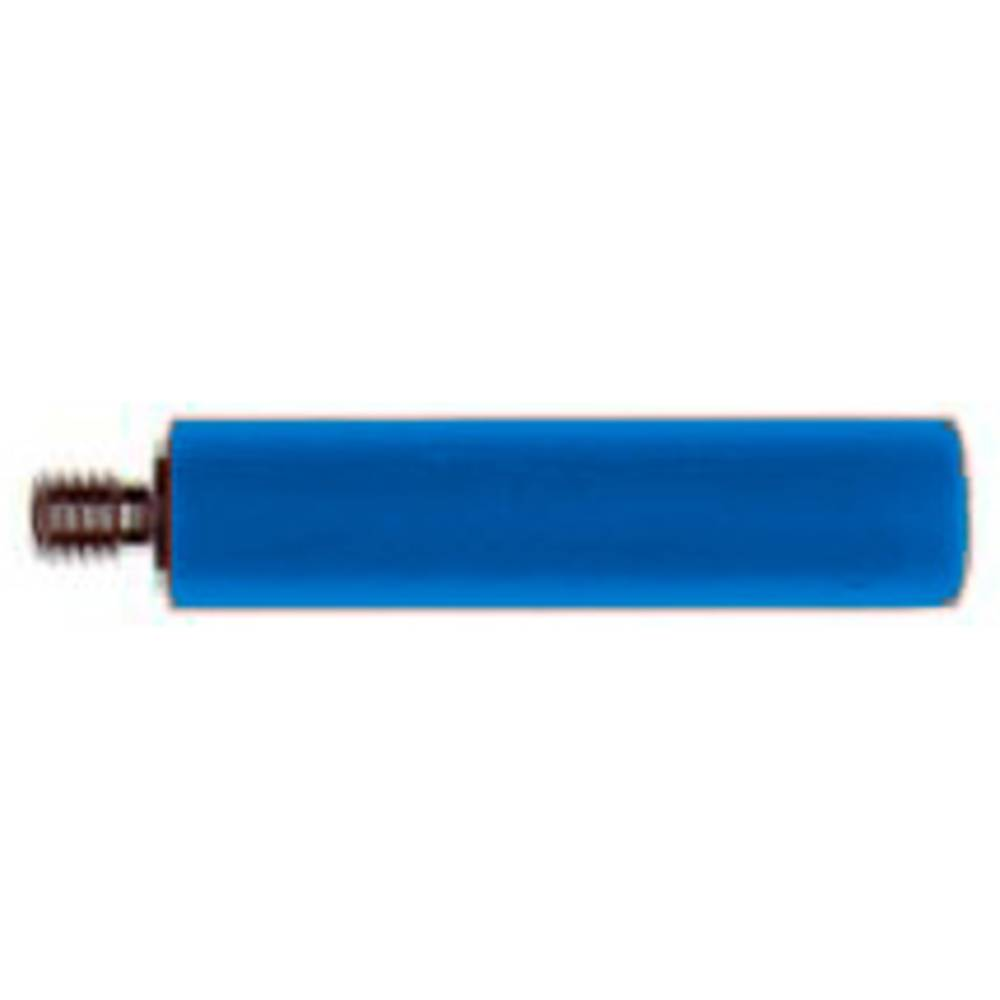 Skrueadapter Stäubli B4-E-M4-I BLAU Gewindebolzen M4 (value.1390806) Buchse 4 mm (value.1390803) Blå 1 stk