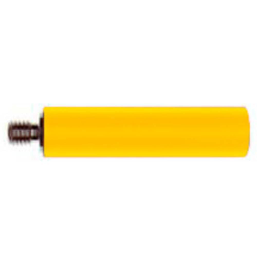 Skrueadapter Stäubli B4-E-M4-I GELB Gewindebolzen M4 (value.1390806) Buchse 4 mm (value.1390803) Gul 1 stk
