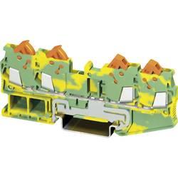 PE-stezaljka sa zaštitnim vodičem QTC 1,5-QUATTRO-PE Phoenix Contact zeleno-žute boje, sadržaj: 1 kom.