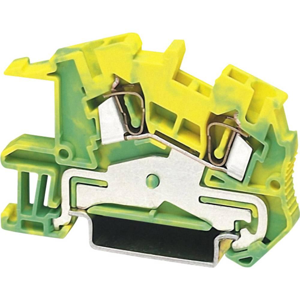 PE beskyttelsesleder terminal Phoenix Contact STI 2,5-PE Grøn-gul 1 stk