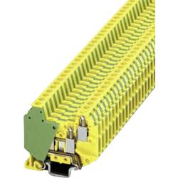 Mini dupla stezaljka MT 1,5-QUATTRO-PE Phoenix Contact zeleno-žute boje, sadržaj 1 kom.